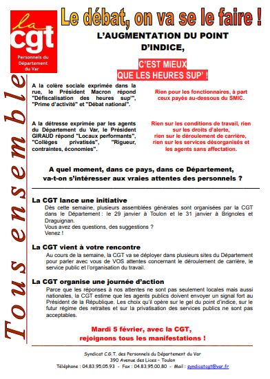 5 fevrier tract cgt