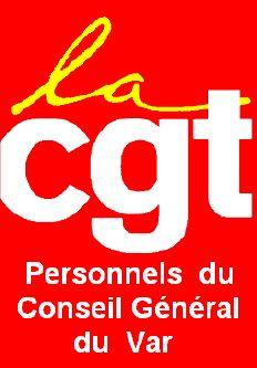 la CGT personnels du conseil général du Var