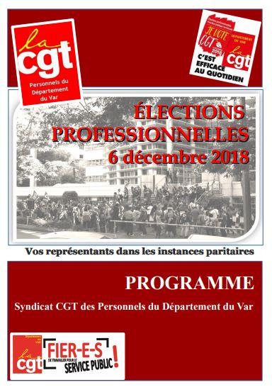 Elections professionnelles 201 livret