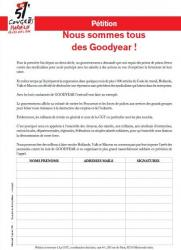 Goodyear petition