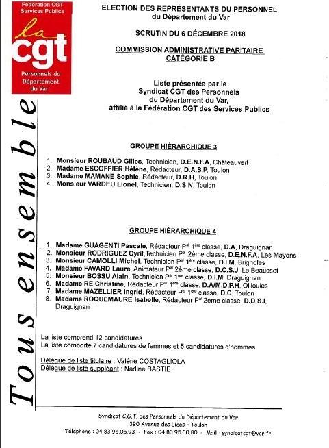 Liste candidats en cap c