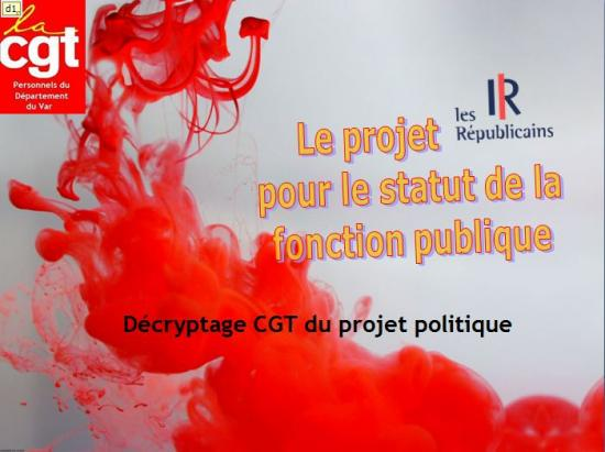 Projet fonction publique