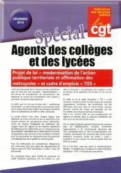 Special agents des collèges et lycées