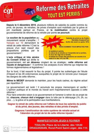 Tract 6 fevrier 2020