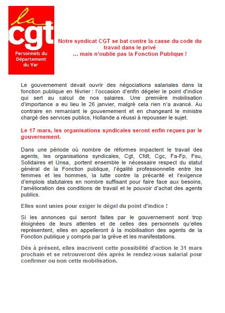 Tract code travail