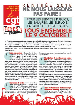 Tract rentree 2018 cgt