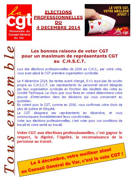 Voter cgt chsct